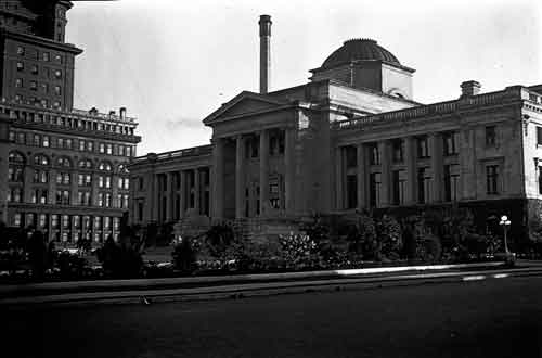 Old Vancouver Courthouse, circa 1915-1925